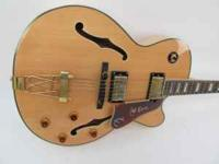 Up for sale is my Epiphone Joe Pass Emperor II Hollow