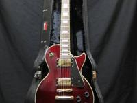 Epiphone Les Paul Custom - Wine Red Beautiful with