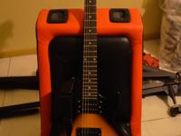 Solidbody Electric Guitar with Mahogany Body and Neck,