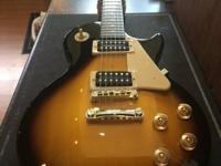 For sale we have a Epiphone LP100 Les Paul.