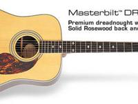 The Epiphone Masterbilt EF-500R Acoustic Guitar has an