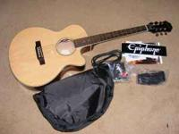 The package includes Epiphone PR-4E acoustic/electric