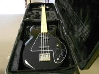 For Sale is a Epighone Ripper Bass Guitar w/ Hardshell