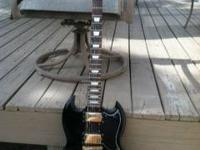 Today I have a guitar for sale. This is my Epiphone SG,
