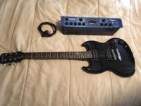Like new Epiphone SG special electric guitar (No dings