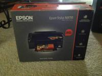 The Epson stylus nx110 is an all-in-one inkjet printer
