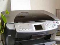 Used in good condition epson printer, needs new ink.