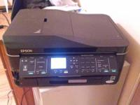 All in one Epson cordless Printer scan and fax.