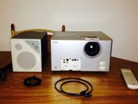 MovieMate 30s Projector with: AC power cord,