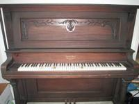 This is an Epworth Upright Williams and Sons of Chicago
