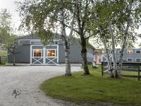 Contemporary home built in 2006 on 18.27 acres. First