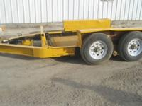 Equip tilt trailer 8lug Elec brakes will carry 12000