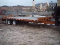 2000 Echo 18,000 lbs tandem axle tandem tiers. 8tires ,