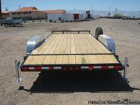 Tandem axles trailer, equipment trailer, PJ trailers,