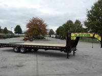 (888) 981-9668 ext.282 NEW 25ft  Equipment trailer