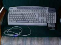 This is an ergonomic keyboard but the keyboard is not