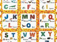 Discover and Learn the Alphabet with this 9-piece Eric