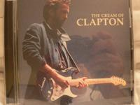 3 Eric Clapton CDs - $20  The Cream of Clapton