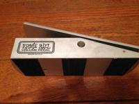 I bought this Ernie Ball Volume Pedal  about 2 years