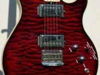 Nice guitar, set up is factory have not touched it,