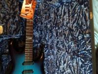Selling my Music Man Luke 07 Limited Edition in Blue