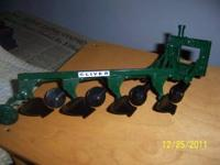 Ertl farm toys for sale - 1 four-bottom Oliver plow,