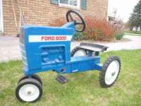 I have a ford 8000 Ertl pedal tractor. Model f-68. this