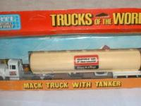 Ertl Trucks of the World - Perlis truckstop tanker
