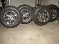 "of 16"" wheels off 2003 Cadillac Escalade. Will"