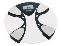 The Body Fat /Body Water bathroom scale features