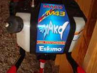 "Eskimo 10"" Gas Ice Auger Brand new! $275.00 Call Bob at"