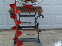 I am selling my Eskimo gas powered ice auger. This is a