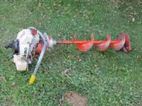 Eskimo Ice Auger - 8 inch Auger, works good Call