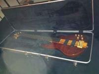 I have an ESP 5 String Bass Guitar for sale. Model