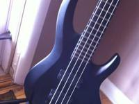 ESP B500 4 string bass in great condition. Extended 35""