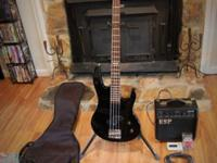 This listing includes an ESP B-10 Electric Bass Guitar,