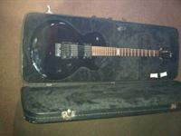 This is a 1990's ESP Eclipse with initial EMG P/U's and