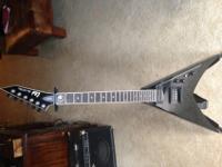 The ESP LTD Dave Mustaine Signature DV8-R Electric