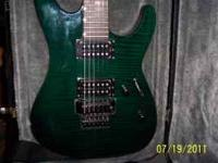 I have for sale my ESP LTD MG-750 electric guitar and