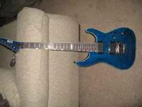I have an ESP LTD MH400. Quilted Top, neck through