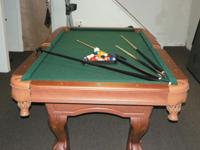 Both sophisticated and practical, the ESPN Pool Table