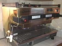 Espresso Machine For Sale Like New Condition Can even