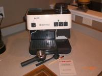 This Estro Profi espresso machine was purchased at