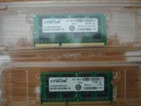 Critical CT102464BF160B Modules. 8GB DDR3 1600 SODIMM
