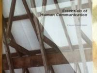 TEXTBOOK: Essentials of Human Communication (2ND Custom