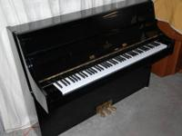 The Essex piano is designed by Steinway & Sons. This