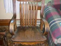 Farm Implements, Furniture, Appliances, Antique Wood
