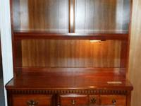 ESTATE CLEARANCE.  Bassett Workdesk w / Hutch. 4