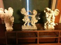 Different antique and retro items for sale such as a