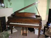 Estey Piano Upright Solid Hardwood Excellent Condition For